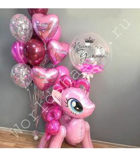 Шары с пони Пинки Пай