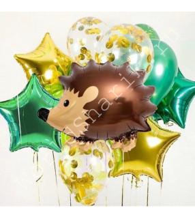 Воздушные шары фигуры животных: с Ёжиком