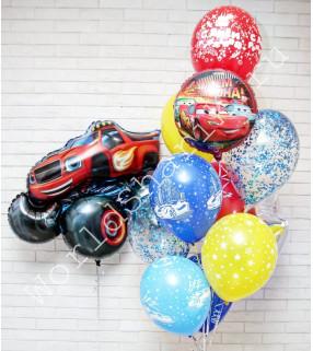 Воздушные шары Вспыш и Тачки