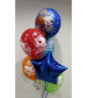 Мимимишки шары на День Рождения