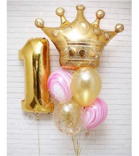 """Шар """"Корона"""" на один год"""