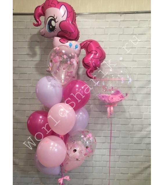 Пинки Пай воздушные шары на 5 лет