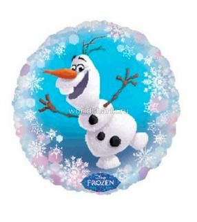 """Шар снеговик Олаф """"Холодное сердце"""""""