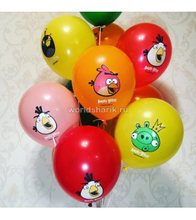 Шарики Angry Birds. 36см.